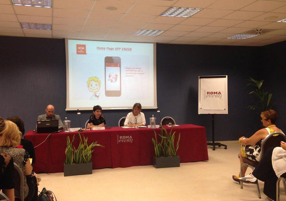 Nuova App ENZO B – La conferenza stampa a Roma